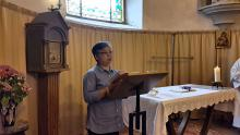 Embedded thumbnail for Noirmoutier mass in the parish 13 - 6 - 2015